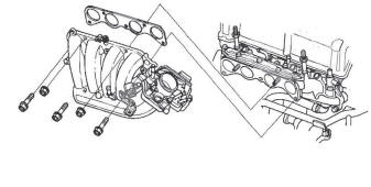 Honda CR-V. Intake Manifold and Exhaust System