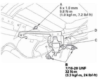Honda CR-V. Seat Belts