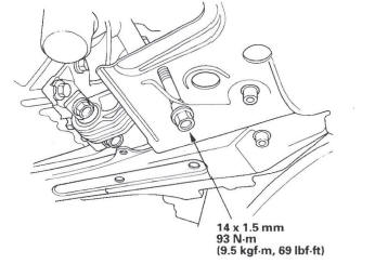 Honda CR-V. Side Engine Mount Bracket Replacement