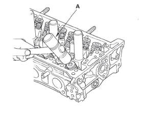 Honda CR-V. Cylinder Head